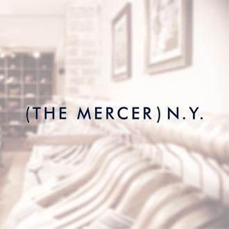 (The Mercer) N.Y. bietet hochwertige Modekollektionen aus den edelsten Naturmaterialen Cashmere und Seide.